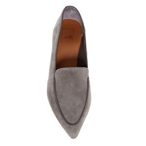 Nordstrom 14th & Union Jessie Loafers Suede Pointy
